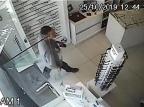 VÍDEO: Polícia Civil busca identificar ladrão de óticas na Serra Open Vision Óptica/Divulgação
