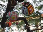 Comunidade confecciona adornos de crochê para árvore de Natal em Nova Prata Sonia Reginato / Divulgação/Divulgação