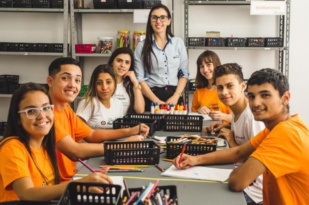 Projeto premiado da Marcopolo estimula atividades com estudantes e realiza reforma em escolas de Caxias Rodrigo Onzi/Divulgação