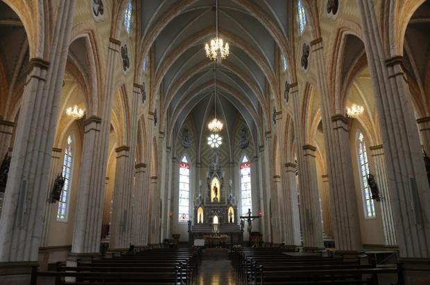 Obra de restauração devolve 90% da originalidade à Igreja Matriz São Pedro de Garibaldi Antonio Valiente/Agencia RBS