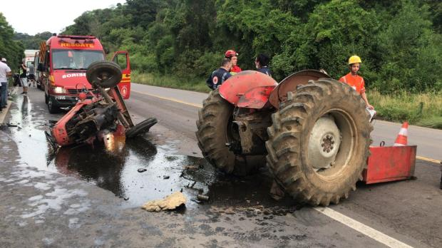 Identificado motociclista morto em acidente com trator em Carlos Barbosa Altamir Oliveira / Estação FM / Divulgação/Estação FM / Divulgação