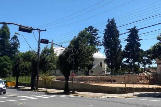 Agora se vê de longe a igreja do bairro Santa Catarina Ciro Fabres/Agência RBS