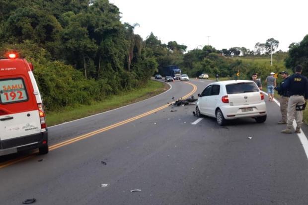 Homem morre após acidente na BR-470, em Bento Gonçalves PRF/Divulgação