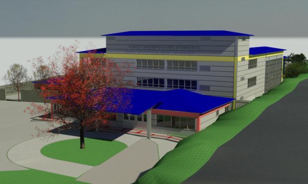 Novo prédio da escola Laurindo Luiz Formolo, de Caxias do Sul, terá investimento de R$ 8,6 milhões Reprodução / Divulgação/Divulgação