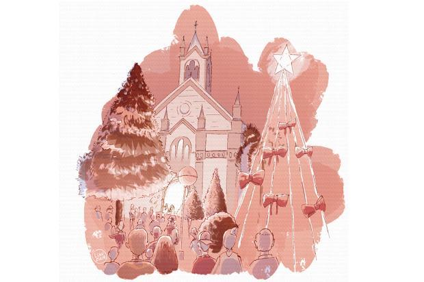 """Crônicas de Natal #2: """"foram muitas mãos para tornar realidade o sonho"""" Arte: Luan Zuchi/Arte: Luan Zuchi"""