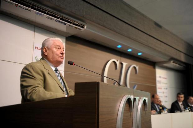 """""""O prognóstico para 2020 é realista com viés conservador"""", diz diretor de economia da CIC, em Caxias Lucas Amorelli/Agencia RBS"""