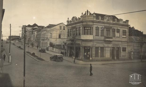 Livraria Saldanha e uma esquina que ficou na história Arquivo Histórico Municipal João Spadari Adami / divulgação/divulgação