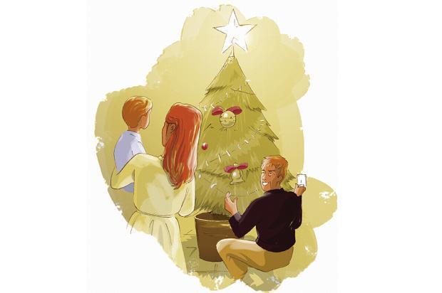 """Crônicas de Natal #3: """"sair do hospital sem o filho nos braços foi doloroso"""" Arte: Luan Zuchi/Arte: Luan Zuchi"""
