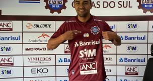 Novo atacante quer ano de 2020 vitorioso com a camisa do Caxias Cristiano Daros / Agência RBS/Agência RBS