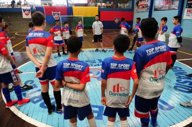 Top Sport busca título na Liga Gaúcha de Futsal sub-13 Porthus Junior/Agencia RBS