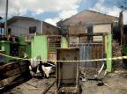 """""""Ainda não acredito que perdi tudo"""", lamenta moradora que teve casa destruída por incêndio em Caxias Lucas Amorelli/Agencia RBS"""