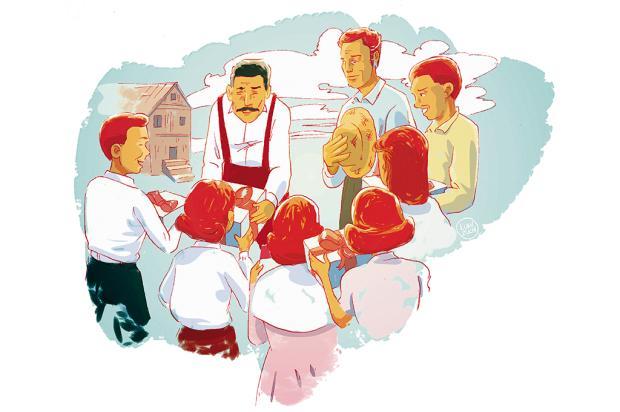 """Crônicas de Natal #7: """"a esperança de encontrar presentes no lugar do milho"""" Arte: Luan Zuchi/Arte: Luan Zuchi"""