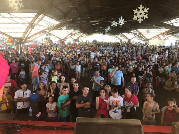 Andreazza reúne 6 mil pessoas em festa de Natal em Caxias do Sul Felipe Andreola / Divulgação/Divulgação