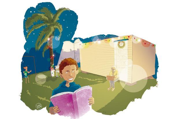 """Crônicas de Natal #8: """"a praça pode ser um grande salão de festas, um local mágico"""" Arte: Luan Zuchi/Arte: Luan Zuchi"""