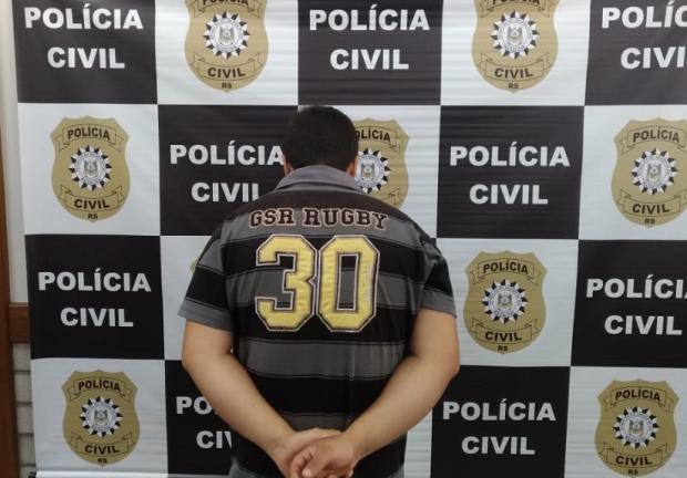 Irmãos se apresentam e confessam homicídio em Farroupilha Polícia Civil / divulgação/divulgação