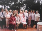 Formandas da Escola Técnica de Comércio do São Carlos em 1959 Acervo pessoal de Lais Moretto Kuser / divulgação/divulgação