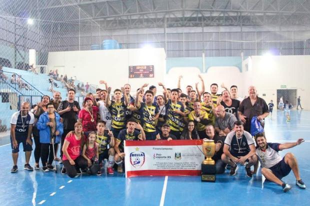 Bella Futsal comemora o título do Nordestão na categoria sub-17 Rodrigo Moraes/Divulgação