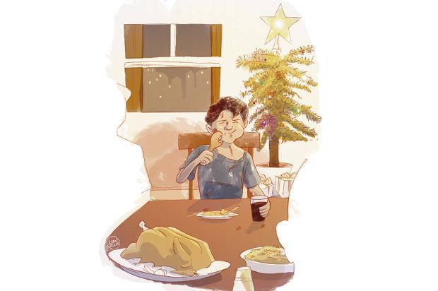"Crônicas de Natal #10: ""pela porta da frente"" Arte: Luan Zuchi/Arte: Luan Zuchi"