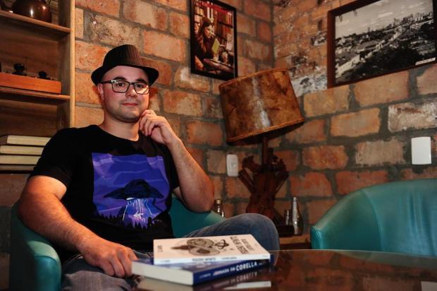Escritor caxiense lança livro de ficção científica neste sábado Porthus Junior/Agencia RBS