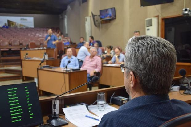 """""""Trabalhadores merecem condições de trabalho"""", diz vereador, sobre cadeiras que custaram R$ 82,5 mil Gustavo Tamagno Martins/Divulgação"""