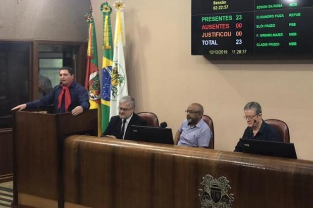 """""""Seria um dos 23 vereadores"""", diz futuro presidente da Câmara de Caxias, sobre novo prefeito, em caso de impeachment André Tajes/Agencia RBS"""