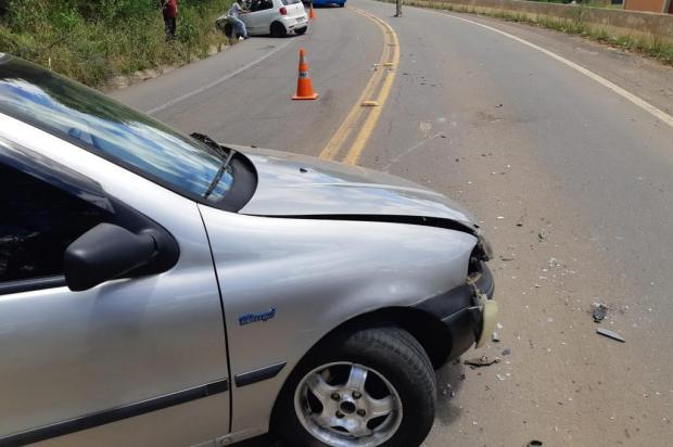 Motorista embriagado e sem carteira é preso após se envolver em acidente em São Marcos PRF/Divulgação