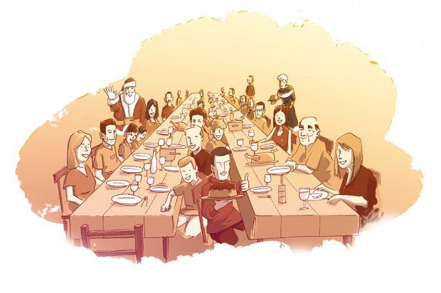 """Crônicas de Natal #18: """"Presente é estar presente """" Arte: Luan Zuchi/Arte: Luan Zuchi"""