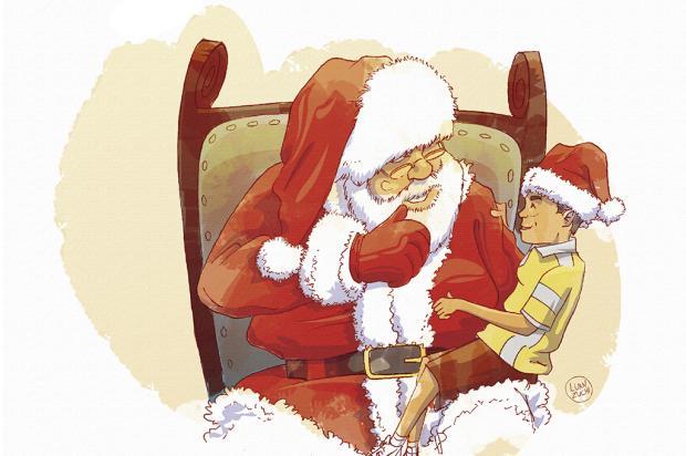 "Crônicas de Natal #20: ""A melhor de todas as noites"" Arte: Luan Zuchi/Arte: Luan Zuchi"