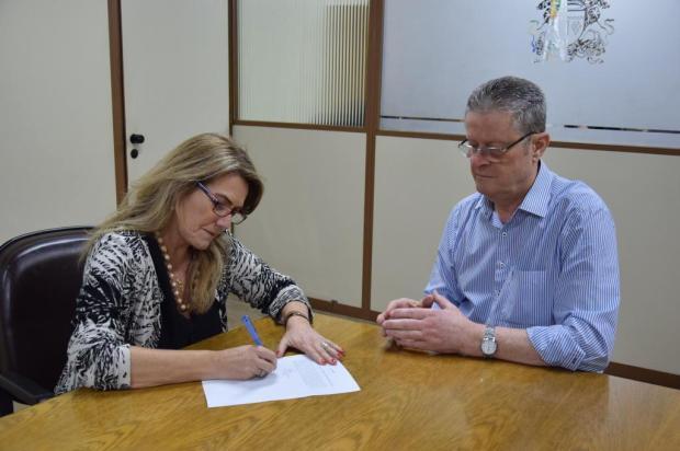 Nova presidente da Câmara de Vereadores toma posse a portas fechadas Fabiana de Lucena/Divulgação
