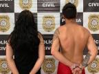 Polícia Civil prende casal suspeito de série de roubos na Região das Hortênsias Polícia Civil / Divulgação/Divulgação