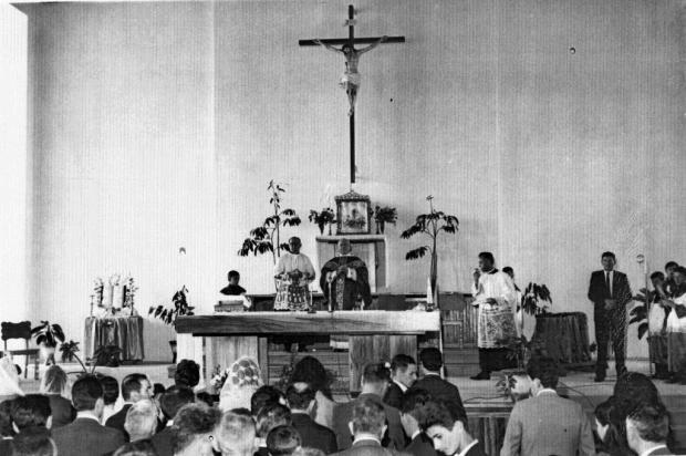 Paróquia do bairro Cruzeiro completa 60 anos Acervo Paróquia Sagrado Coração de Jesus/divulgação