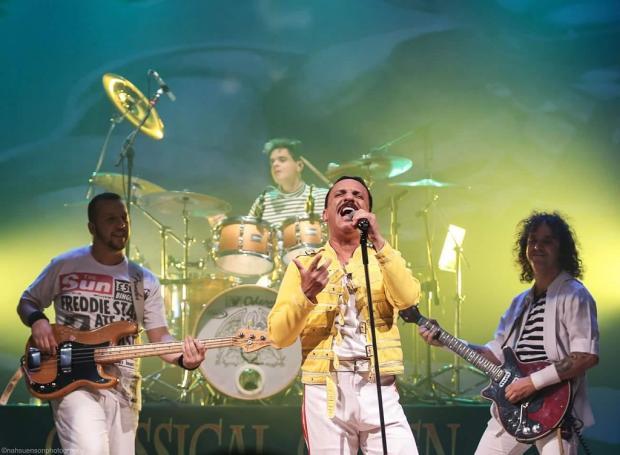 Agenda: cover do Queen faz show extra em Caxias no dia 29 de março Nah Suenson photography / Divulgação/Divulgação