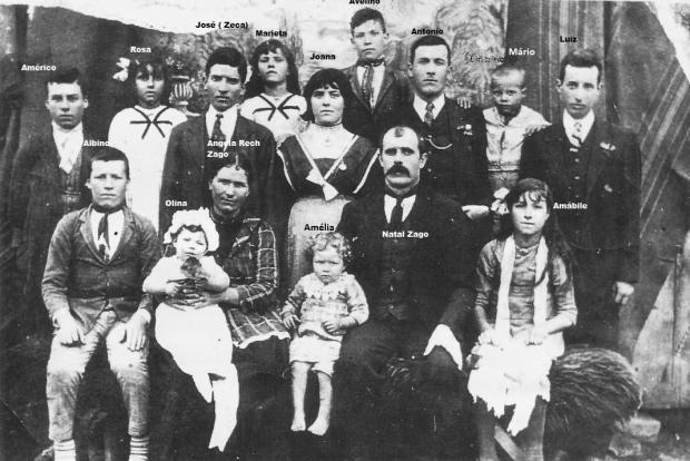 Imigração italiana: as trajetórias de Domenico e Natal Zago Acervo de família / divulgação/divulgação