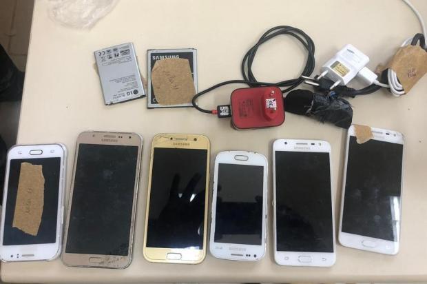 Seis celulares e duas porções de drogas são apreendidos em revista da nova penitenciária de Bento Gonçalves Susepe/Divulgação