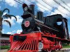 Carcaça de locomotiva é restaurada e vira atração em Carlos Barbosa reprodução/