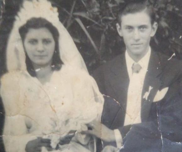 As bodas de vinho de Irineu e Lúcia Nicola Acervo de família / divulgação/divulgação