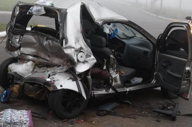 Nove pessoas ficam feridas em acidente na RS-122 em Farroupilha Bombeiros de Farroupilha/Divulgação