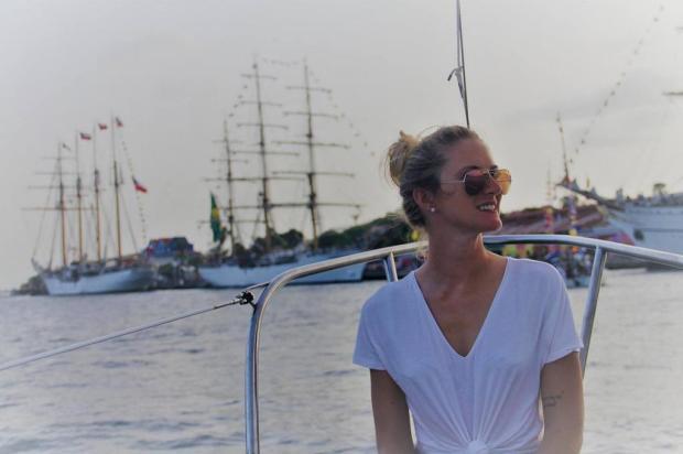Engenheira formada pela UCS participa de expedição que vai rodar o mundo em veleiro Carine Ghazzi/Divulgação
