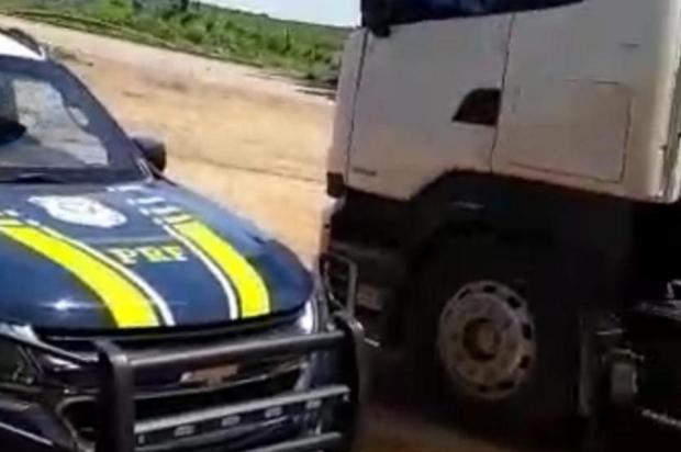 Motorista de caminhão é preso por tentativa de suborno em Vacaria PRF/Divulgação