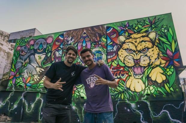 Veja como ficou o maior mural artístico a céu aberto de Caxias Murilo Fonseca/Divulgação