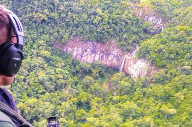 BM mantém cerco a assaltantes de carro que fugiram no interior de Flores da Cunha Brigada Militar/Divulgação