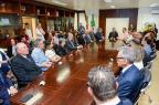 Prefeito de Caxias do Sul anuncia os nomes de 13 titulares do primeiro escalão (João Pedro Bressan/divulgação)