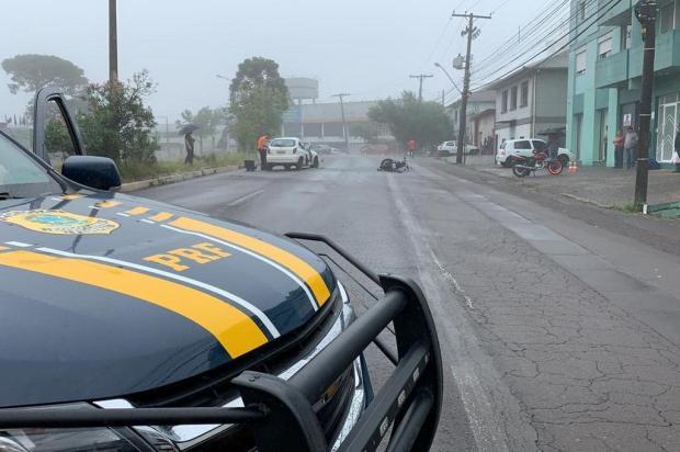 Trânsito é liberado na BR-116 em Caxias após bloqueio Luis Felipe Amorin/Agência RBS