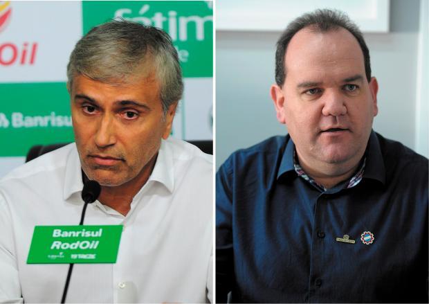 Show dos Esportes, na Gaúcha Serra, recebe presidentes da dupla Ca-Ju Porthus Junior e Lucas Amorelli / Agência RBS/Agência RBS