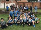 Núcleo caxiense da Escola do Grêmio conquista a terceira colocação em Salvador do Sul Divulgação/