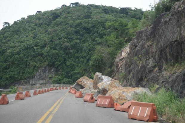 Secretário garante que as pedras na Rota do Sol serão retiradas até março Antonio Valiente/Agencia RBS