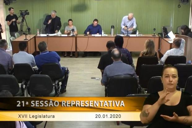 Pedidos de informações geram primeiro embate entre vereadores da base de Caxias do Sul Reprodução/Youtube