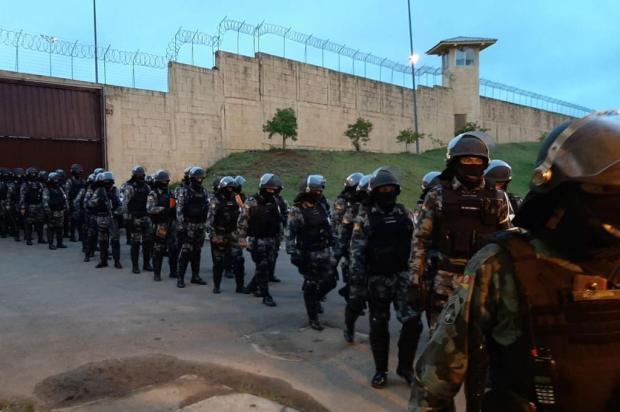 Penitenciária de Caxias do Sul passa pela primeira revista total em nove anos Susepe/Divulgação