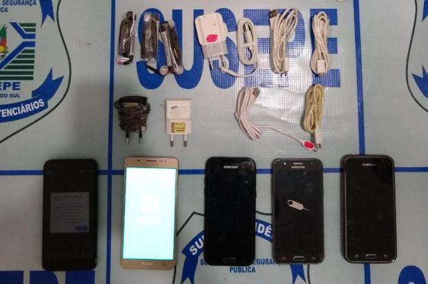 Dois arremessos são interceptados em menos de 24 horas na Penitenciária de Bento Gonçalves Susepe/Divulgação