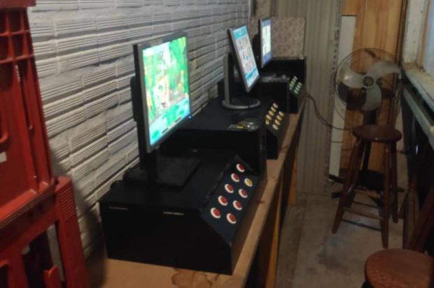 Pela quinta vez, dono de bar é autuado por exploração de jogos de azar em Gramado Brigada Militar / Divulgação/Divulgação